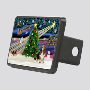 Xmas Magic - Basset Rectangular Hitch Cover