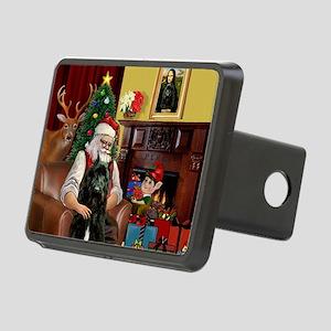 Santa's Bouvier Rectangular Hitch Cover