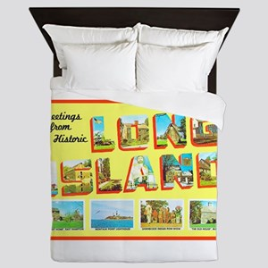 Long Island New York Queen Duvet
