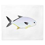 Pompano fish King Duvet