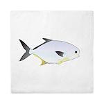 Pompano fish Queen Duvet