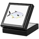 Pompano fish Keepsake Box