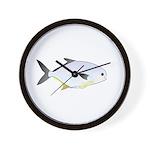 Pompano fish Wall Clock