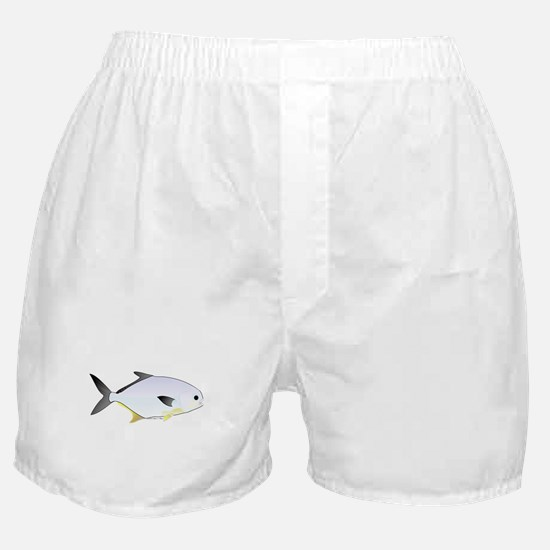 Pompano fish Boxer Shorts