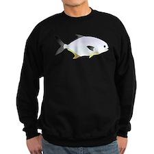 Pompano fish Sweatshirt (dark)