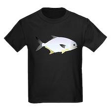 Pompano fish Kids Dark T-Shirt