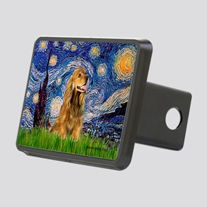 Starry Night/Cocker(#7) Rectangular Hitch Cover