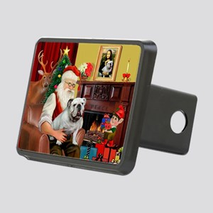 Santa's white EBD Rectangular Hitch Cover