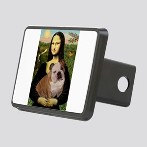 Mona's English Bulldog Rectangular Hitch Cover