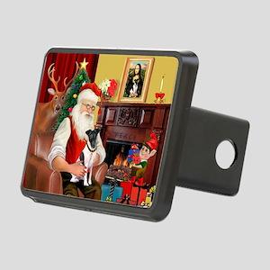 Santa's smooth Fox T Rectangular Hitch Cover