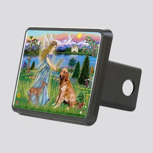 Card-Angel5-GoldBanj Rectangular Hitch Cover
