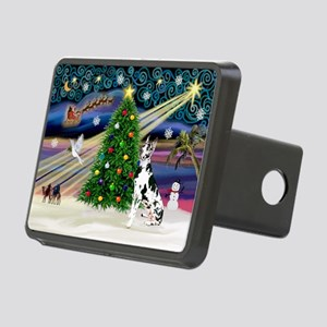 Xmas Magic Great Dane (H) Rectangular Hitch Cover