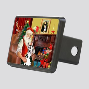 Santa's Great Dane (H) Rectangular Hitch Cover