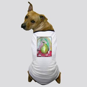 Pear! colorful fruit art! Dog T-Shirt