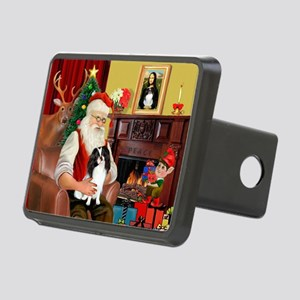 Santa's Japanese Chin Rectangular Hitch Cover
