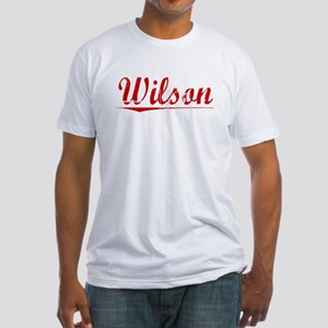 Wilson, Vintage Red Fitted T-Shirt