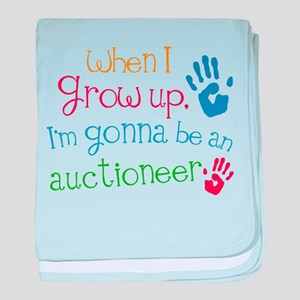 Kids Future Auctioneer baby blanket