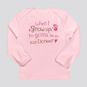 Kids Future Auctioneer Long Sleeve Infant T-Shirt