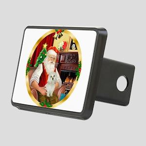 Santa's Maltese 11 Rectangular Hitch Cover