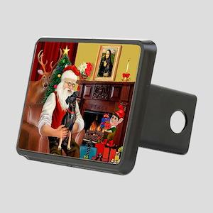 Santa'sMiniature Pinscher Rectangular Hitch Cover