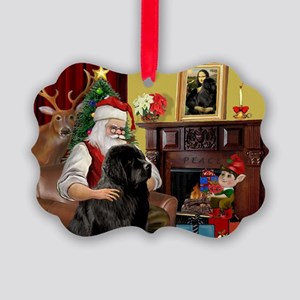 Newfound Christmas Fantasy. Picture Ornament