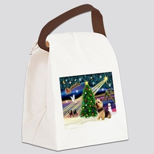 Xmas Magic & Norwi Canvas Lunch Bag