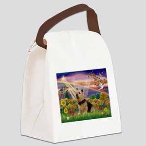 Autum Angel & Norwich Canvas Lunch Bag