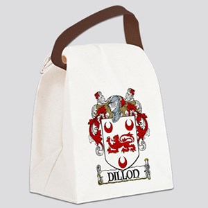 Dillon Coat of Arms Canvas Lunch Bag
