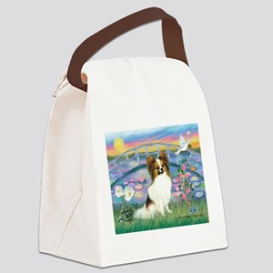 card-LiliesJF-Papi5-fawn Canvas Lunch Bag
