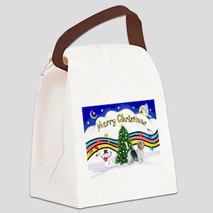 XmasMusic1/PBGV #9 Canvas Lunch Bag