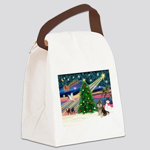 XmasMagic/Pom (prti) Canvas Lunch Bag