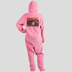 Pom Fantasy (#1) Footed Pajamas