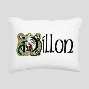 Dillon Celtic Dragon Rectangular Canvas Pillow