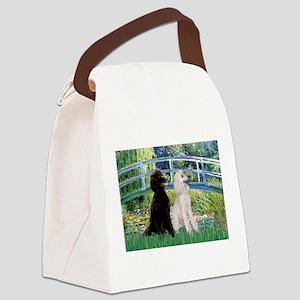 card-Bridge-PoodlePR-ST Canvas Lunch Bag