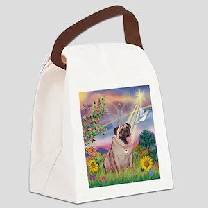 TILE-CloudStar-Puglcy Canvas Lunch Bag