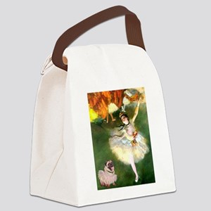 TR-Dancers-PugLcy-Tuttu Canvas Lunch Bag