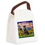 8x10-AutmnAngel-Rottie3 Canvas Lunch Bag
