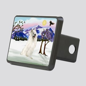 Snow Country / Samoyed Rectangular Hitch Cover