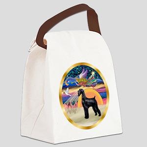 XmasStar/Schnauzer G Canvas Lunch Bag