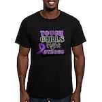 Tough Girls Pancreatic Cancer Men's Fitted T-Shirt