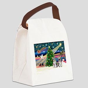 Xmas Magic & Min S Canvas Lunch Bag