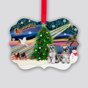 Xmas Magic & Min S Picture Ornament