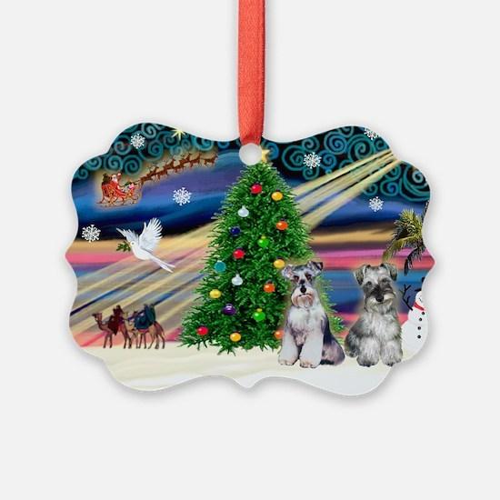 Xmas Magic & Min S Ornament