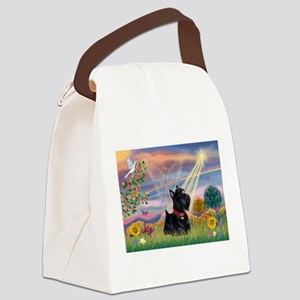 Cloud Angel & Scotty Canvas Lunch Bag
