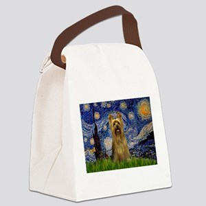 TILE-Starry-SIlkyBarlee Canvas Lunch Bag