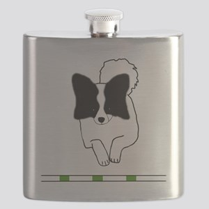 Black Papillon Flask