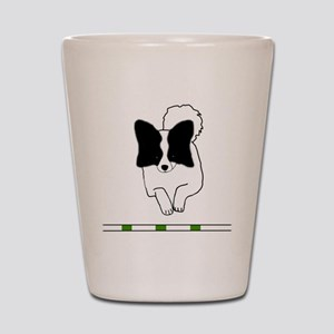 Black Papillon Shot Glass