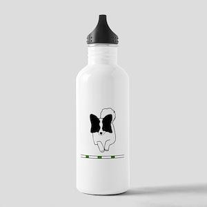 Black Papillon Stainless Water Bottle 1.0L