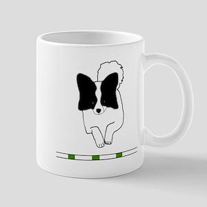 Black Papillon Mug