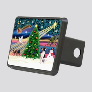 Xmas Magic & Toy Fox T Rectangular Hitch Cover